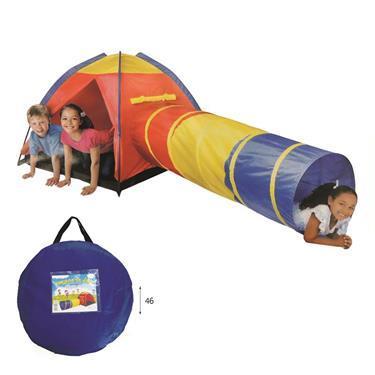 miniwin - לתינוקות ופעוטות אוהל ומנהרה במנשא בד - Mom & Me