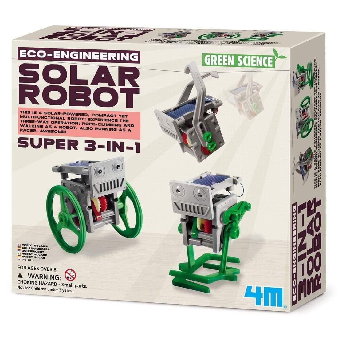 צעצועים רובוט סולארי 3 ב 1 - Mom & Me