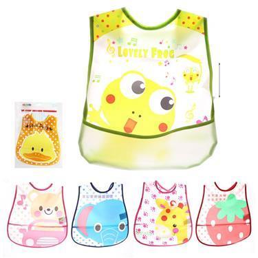 miniwin - לתינוקות ופעוטות סינר כיס צבעוני PVC - Mom & Me