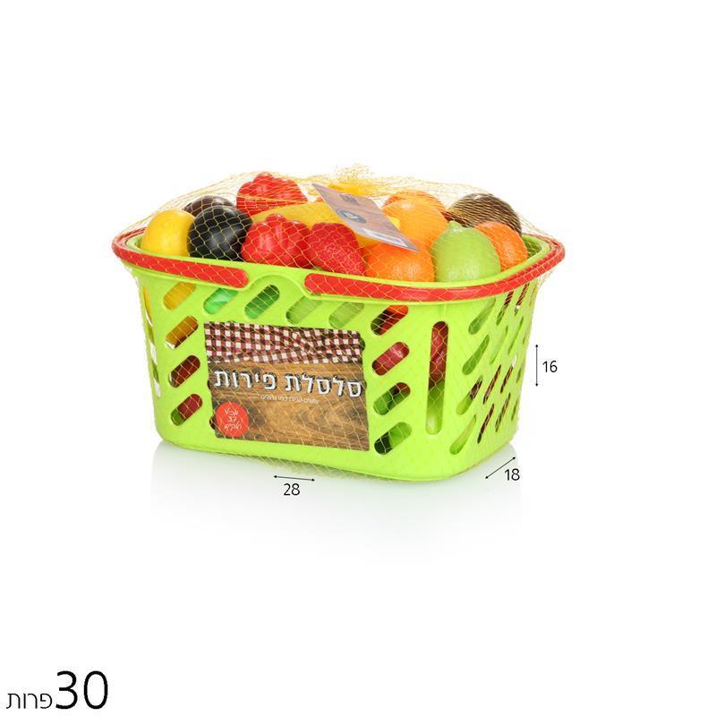 כלי מטבח / נקיון/יופי ואופנה סלסילת פירות 30 יח' - Mom & Me