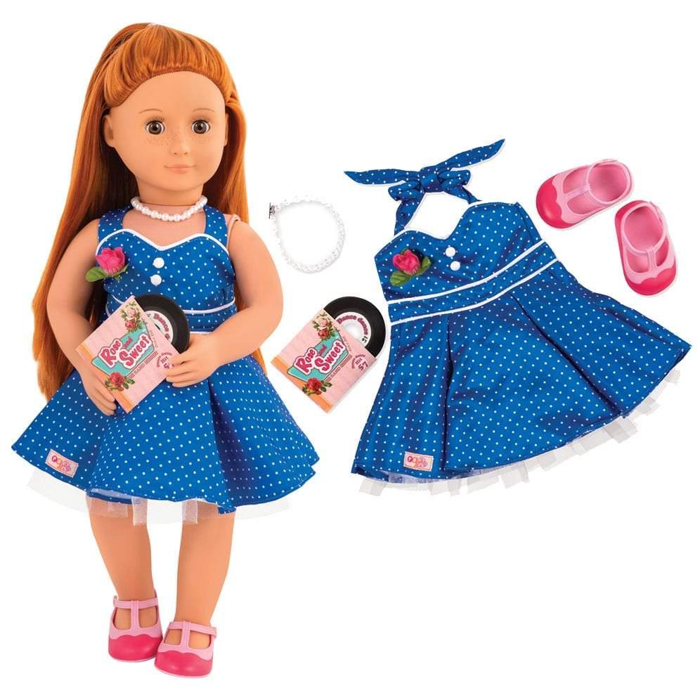 צעצועים תלבושת מסיבת ריקודים רטרו לבובה - Mom & Me