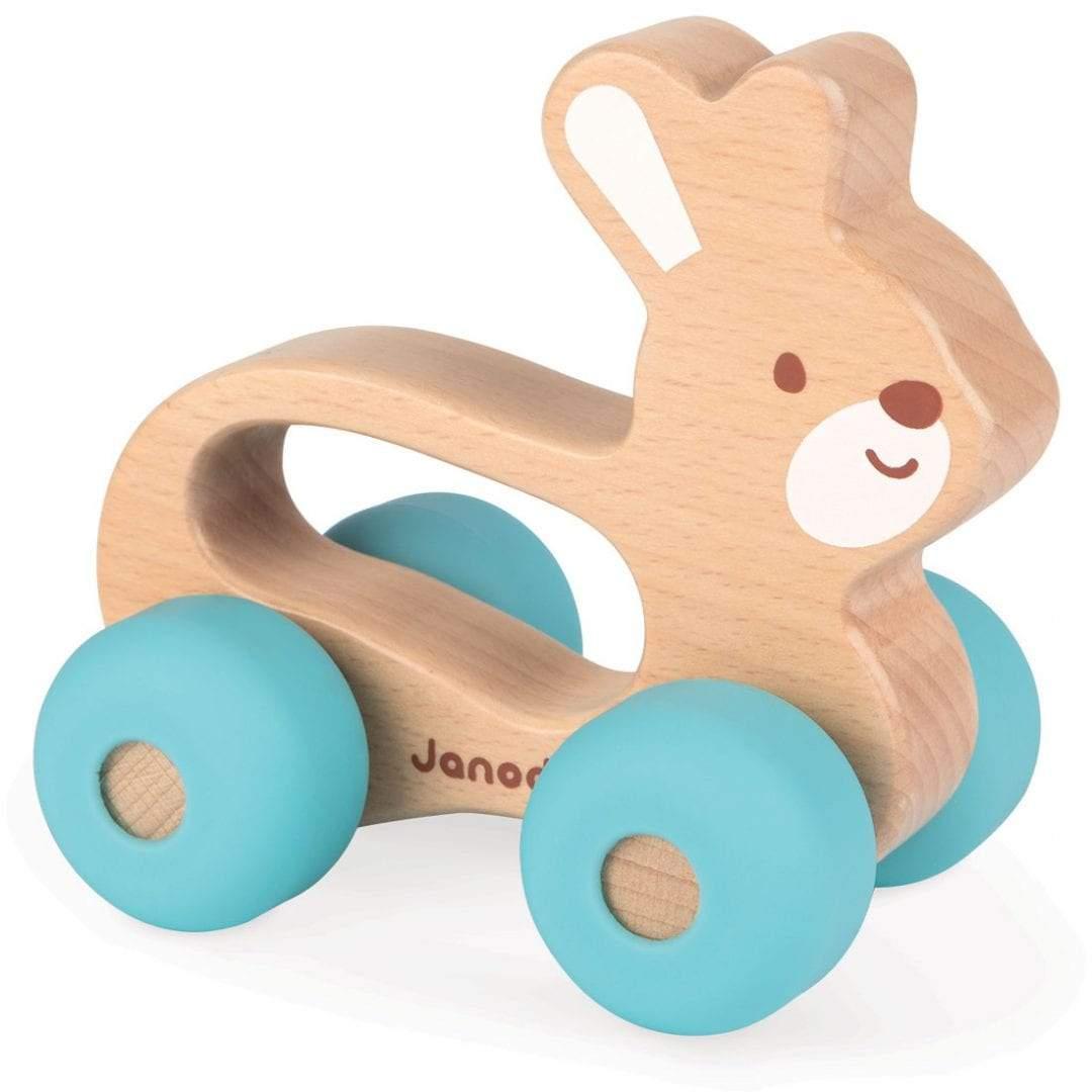 צעצועים צעצוע ארנב על גלגלים - Mom & Me